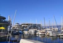 Yachthafen und Fähranlager in Großenegg