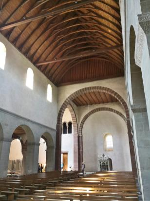 Blick in de romanischen Chor