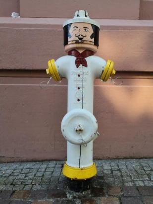 Ein Hydrant