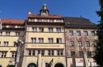 Historische Häuser an der Kanzleistraße