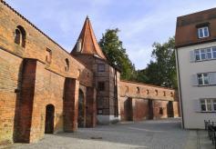 Der Bettelturm an der Stadtmauer