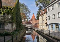 Das Waserkraftwerk am Stadtbach