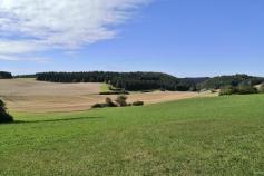 Landschaft unterhalb der Fürstenhöhe