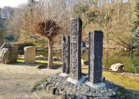 Steinskulpturen im Willy-Dohmen-Park