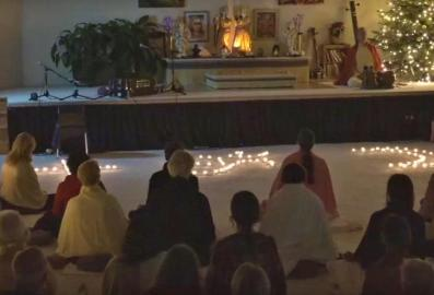 Kerzenmeditation für die Einheit der Weltreligionen