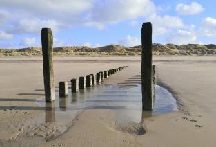 Am Strand in Renesse