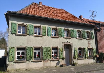 Markantes Haus in Damm