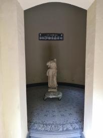 Statue im Hagartempel
