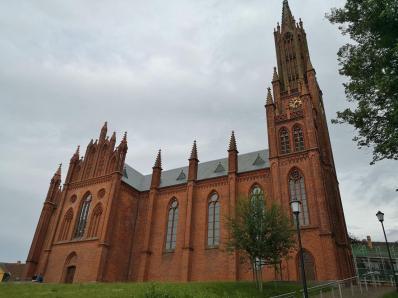 Die ehemalige Klosterkirche, die heute für Konzerte und Ausstellungen des angegliederten Orgelmuseums genutzt wird