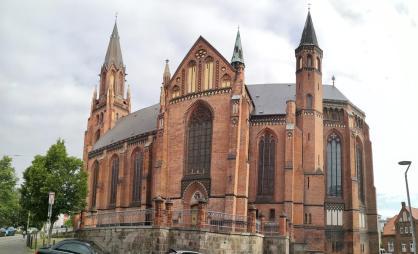 Panoramabild der evangelischen St. Pauls-Kirche