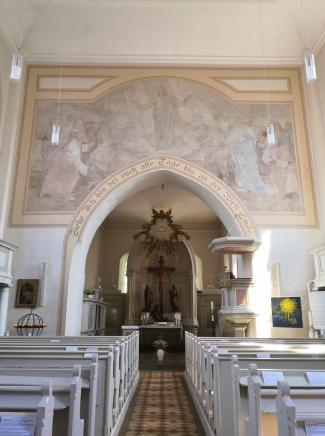 Innenraum der St. Marien-Kirche