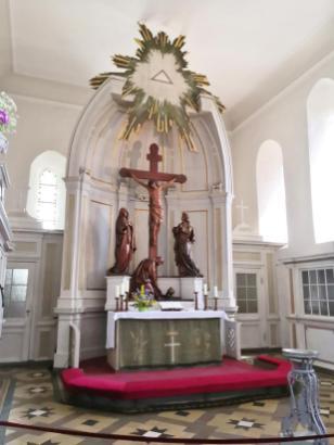 Altar der St. Marien-Kirche