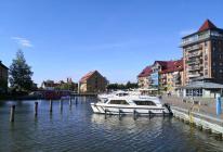 Yachten im Stadthafen