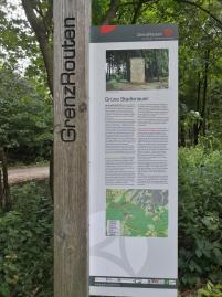 Unterwegs im Grenzwald an der alten Grünen Grenze, der mittelalterlishen Aachener Landwehr