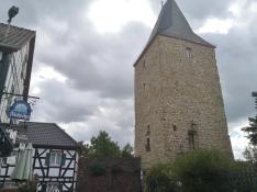 Der Katharinenturm am Südrand der Altstadt von Blankenberg