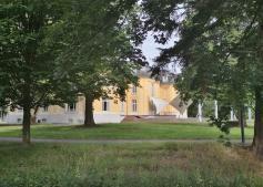 Gartenseite von Schloss Morsbroich