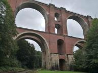 Die 68 Meter hohe Elstertalbrücke wurde zwischen zwischen 1846 und 1851 errichtet