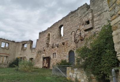 Innenhof der Gleichenburg