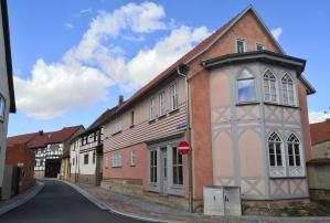 Häuserzeile in der Karl-Liebknecht-Straße