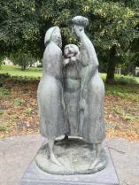 Skulptur im Lutherpark