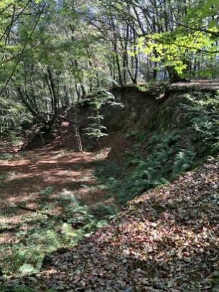 Bergaufschluss bei Bleifeld