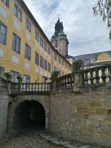 Torzugang zum Innenhof des Schlosses