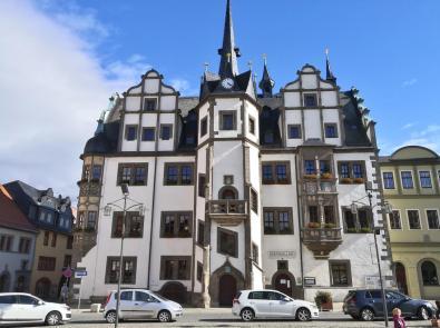 DashHistorische Rathaus am Markt