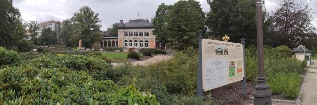 Panoramabild vom königlichen Kurhaus