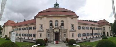 Panoramabild vom historischen Albert-Bad