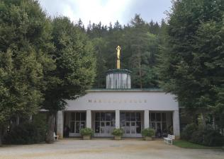 Marienquelle im Kurpark am Albert-Bad