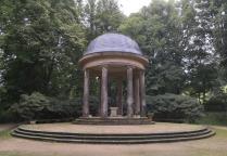Floratempel im Kurpark von Bad Elster