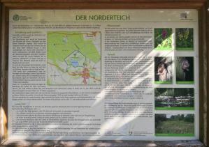 Infotafel am Norderteich