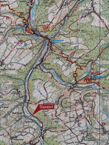 Wir sind unterwegs zwischen Wildenburg, Kreuzberg und Reifferscheid