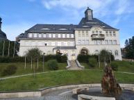 Das Rathaus von Klingenthal