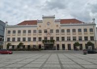 Das Zwickauer Rathaus am Hauptmarkt