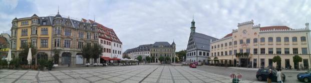 Panoramabild vom Hauptmarkt