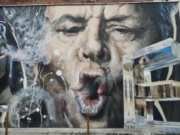 Tolle Street-Art-Werke an der Peter-Breuer-Straße in Domnähe