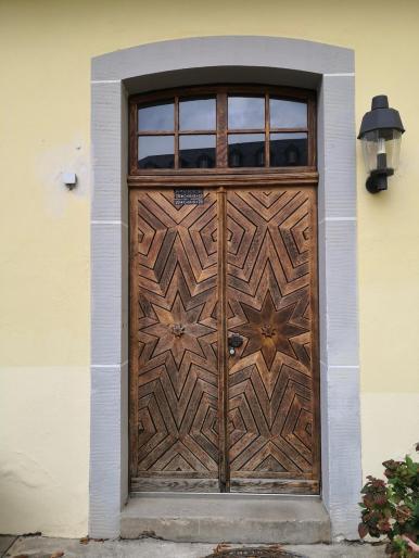 Portal am Torhaus in der oberen Etage