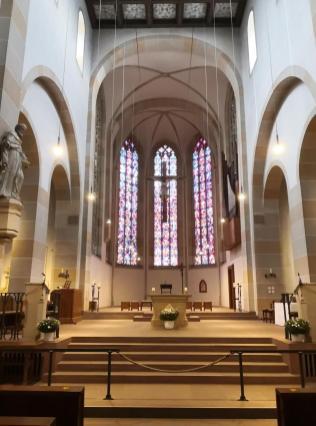 Kirchenschiff der Klosterkirche
