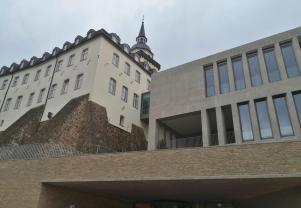 Moderner Anbau des Kirchlisch-Sozialen Instituts des Erzbistums Köln