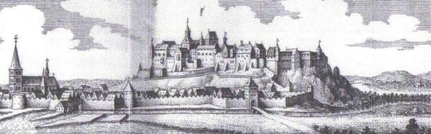 Historischer Stich von 1646