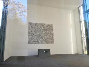 Im Fontana-Haus: Ausstellungsraum wie in einer Kapelle