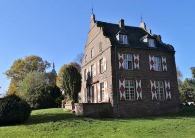 Hauptflügel des Schlosses