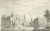 Historischer Stich aus dem 17. Jahrhundert