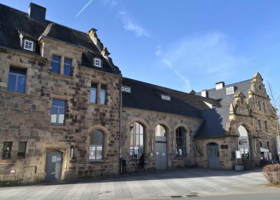Ehemaliges Empfangsgebäude am Bahnhof Wetter
