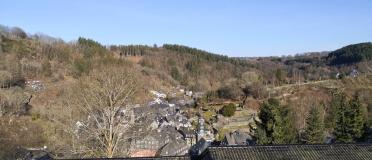 Panoramablick hinunter nach Monschau
