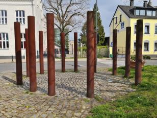 Kunstinstallation am Maikammer in Himmelgeist