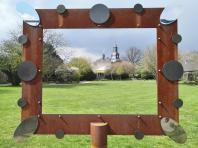 Blick vom Schlosspark auf das Schloss Styrum