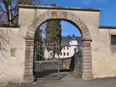 Zugang zum ehemaligen Kloster