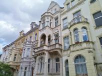 Gründerzeitfassaden in den Straßen rund um das Poppelsdorfer Schloss